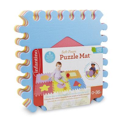 Infant's 6-Piece Soft Foam Puzzle Mat