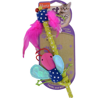 Hartz Mountain Corp. Just for Cats Twirl & Whirl Cat Toy, 1 pk.