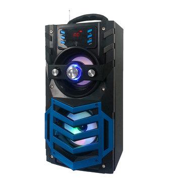 Quantum FX Portable BT Speaker with FM Radio - Blue