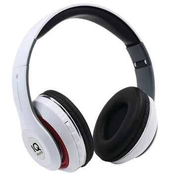 Supersonic On Ear Bluetooth Headphones White (Each)