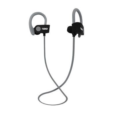 Naxa Electronics, Inc Naxa Performance Bluetooth ® Wireless Sport Earphones - Gray, Silver/Gray
