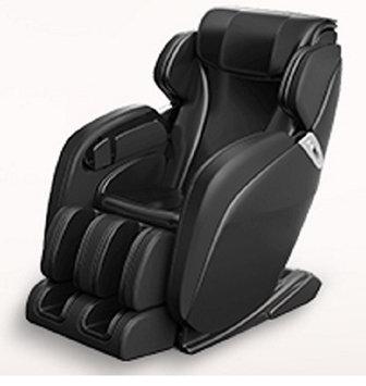 SUNHEAT International 10003001 Black Leather Extra Wide Zero Gravity Whole Body Massage Chair
