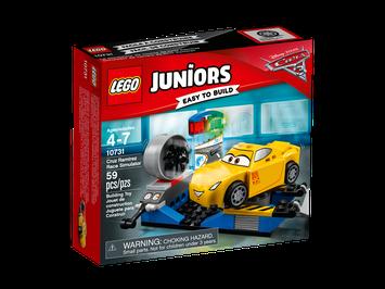 Lego Juniors DisneyPixar Cars 3 Cruz Ramirez Race Simulator 10731