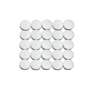 Dhruv Globals Ltd 100 T-Light Candles Set, White