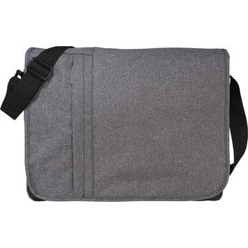 Natico Originals, Inc. Natico Messenger Bag, Grey, Gray