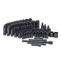 Craftsman 78pc Impact Socket and Accessory Set, Black Oxide
