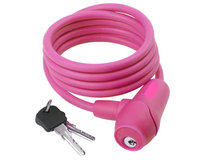 Cycle Source Group, Llc Silicon Lock Key 5 feet x 10mm-Pink, Pink