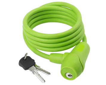 Cycle Source Group, Llc Silicon Lock Key 5 feet x 10mm-Green, Green