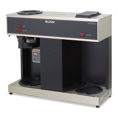 Bunn Pour-O-Matic Three-Burner Pour-Over Coffee Brewer