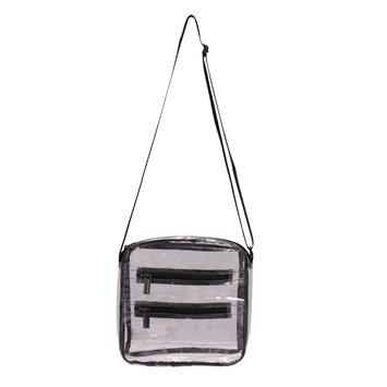 Natico Originals, Inc. Natico Cross Body Bag, Clear, Women's