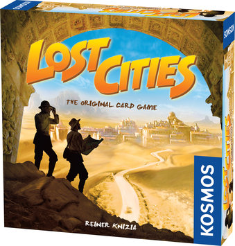 Thames & Kosmos Lost Cities: The Original Card Game