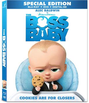 Boss Baby (Blu-ray + Dvd + Digital)