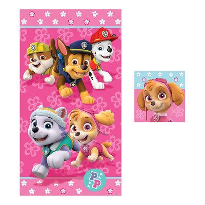 Franco Manufacturing Nickelodeon 2-Piece Towel Set - Paw Patrol, Multi
