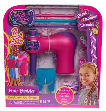Easy Nails Easy Braid Hair Braider, Toy Beauty Playsets