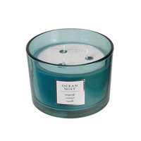 16 oz. Ocean Mist 3 Wick Candle - Turquoise
