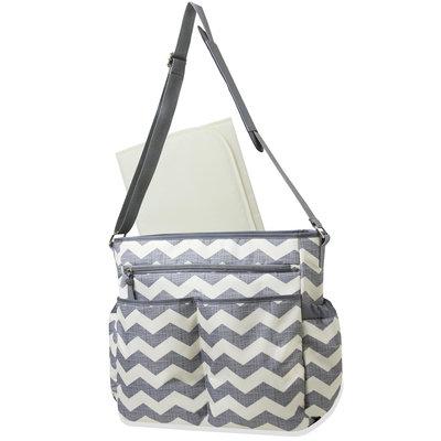 Misc Brands Baby Essentials Chevron Crossbody Diaper Bag