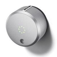 August - Homekit Bluetooth Deadbolt Retrofit Smart Lock - Silver