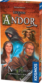 Thames & Kosmos Kosmos Legends of Andor New Heroes Board Game