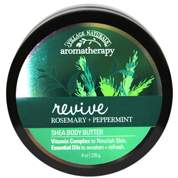 Minnetonka Aromatherapy Revive Rosemary Peppermint Body Butter, 8 Oz.