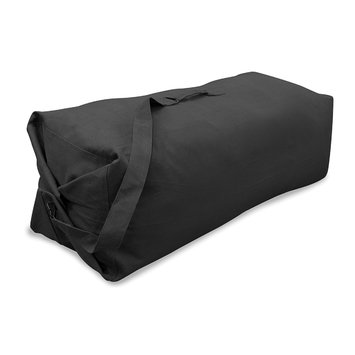 Stansport Duffle Bag with Strap - Black - 30