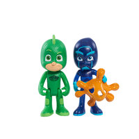 Disney PJ Masks 2 Pack Light Up Hero vs. Villain - Owlette and Luna, Multi-Color