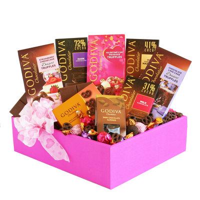 Curry Games, Inc. Godiva Valentine Box of Temptations