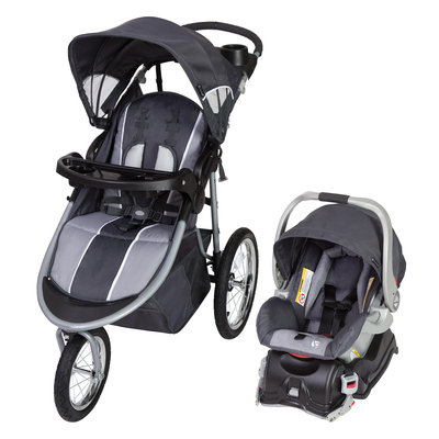 Baby Trend Jogger Travel System Gray, Moonstone