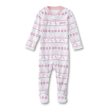 Dyer Development Little Wonders Infant Girls' Sleeper Pajamas - Owl & Dots, Size: 0-3 months, Yucca