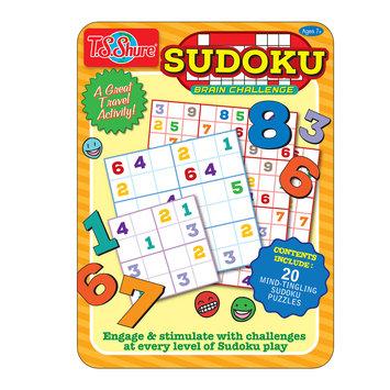 Shure Products, Inc. Sudoku Activity Tin, TS Shure