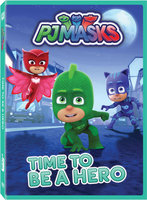 PJ Masks-Time To Be A Hero DVD (Widescreen)