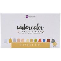 Prima Marketing Prima Watercolor Confections Watercolor Pans 12/Pkg-Decadent Pies