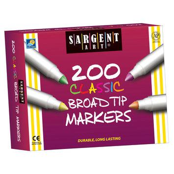 Sargent Art Inc. SAR221527 Sa Markers Best Buy Assort 8 Colors