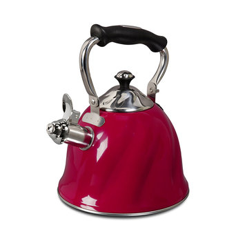 Gibson Mr Cofee Alderton Stainless Whistling 2.3 quart Tea/Coffee Kettle