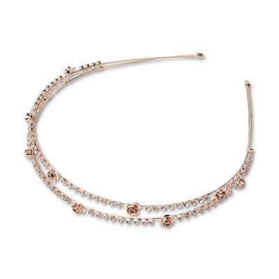 Tanya Creations, Inc. Joe Boxer Women's Rose (Pink) Goldtone Headband