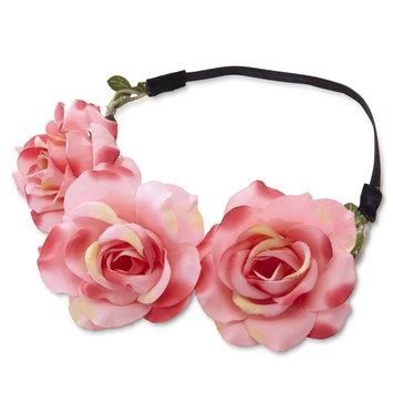 K & M Associates L.p. Women's Flower Headband