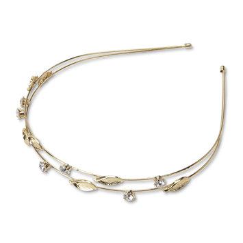 Tanya Creations, Inc. Joe Boxer Women's Goldtone Headband, Grey