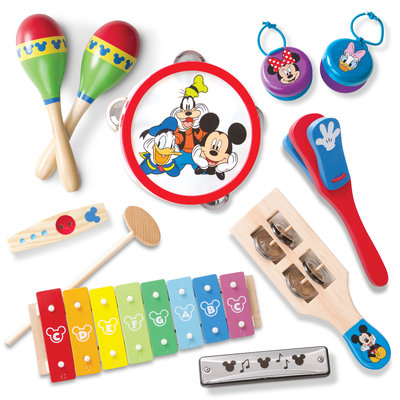 Disney's Mickey Mouse 10-pc. Deluxe Band Set, Multicolor