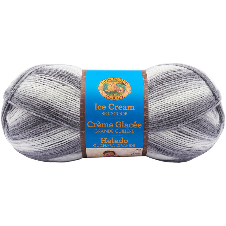 Lion Brand Ice Cream Big Scoop Yarn-Cookies & Cream