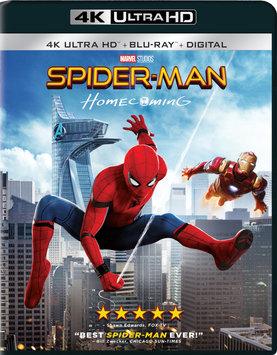 Sony Spiderman-Homecoming Blu-ray