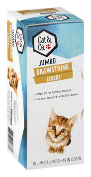 Mygofer Cat & Co. Drawstring Liners Jumbo - 15 CT