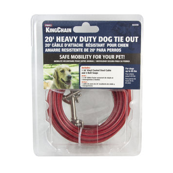 The Mibro Group DOG TIE OUT 20 FT HEAVY DUTY