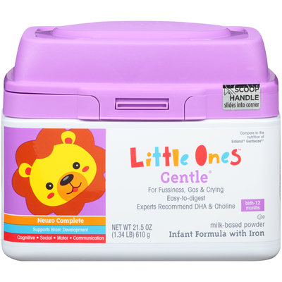 Mygofer For Fussiness, Gas, & Crying with Iron Infant Formula Milk-Based Powder 21.5 PLASTIC CONTAINER