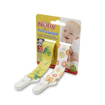 Luv N' Care, Ltd. Nuby BPA Free 2 Pack Fabric Pacifinder - Girl