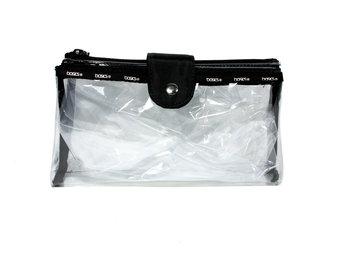 Living Things Mfg. Co., Inc. Basics Clear Foldover Clutch Cosmetic Bag