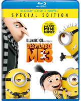 Mca Despicable Me 3 Blu-ray