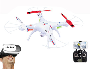 Swift Stream RC Z-9VR Wi-Fi camera drone with Virtual Reality Goggles