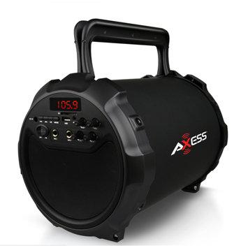 Coleman Axess Portable Indoor/Outdoor Bluetooth HIFI Cylinder 2.1 Speaker with 6