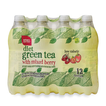 Mygofer Diet Green Tea with Mixed Berry, 12 Pack