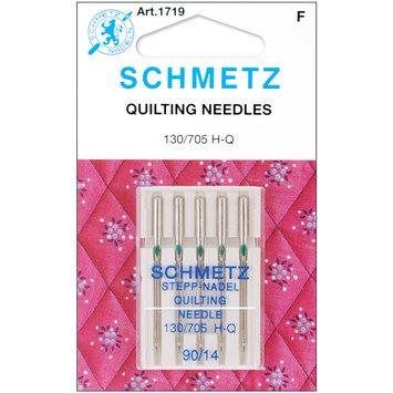 Euro Notions Quilt Machine Needles-Size 14/90 5/Pkg