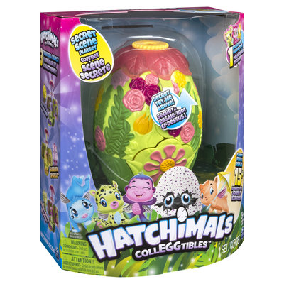 Hatchimals Glittering Garden Secret Scene Playset